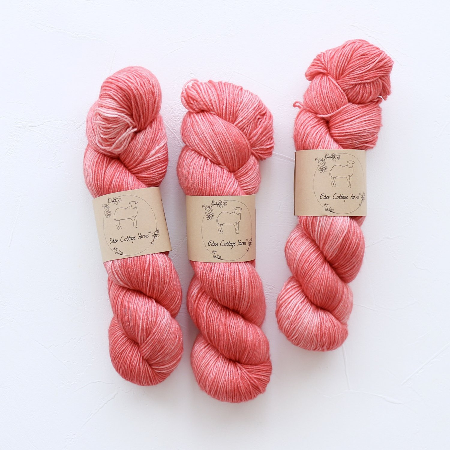 【Eden Cottage Yarns】<br>Pendle 4ply<br>Vintage Ribbon