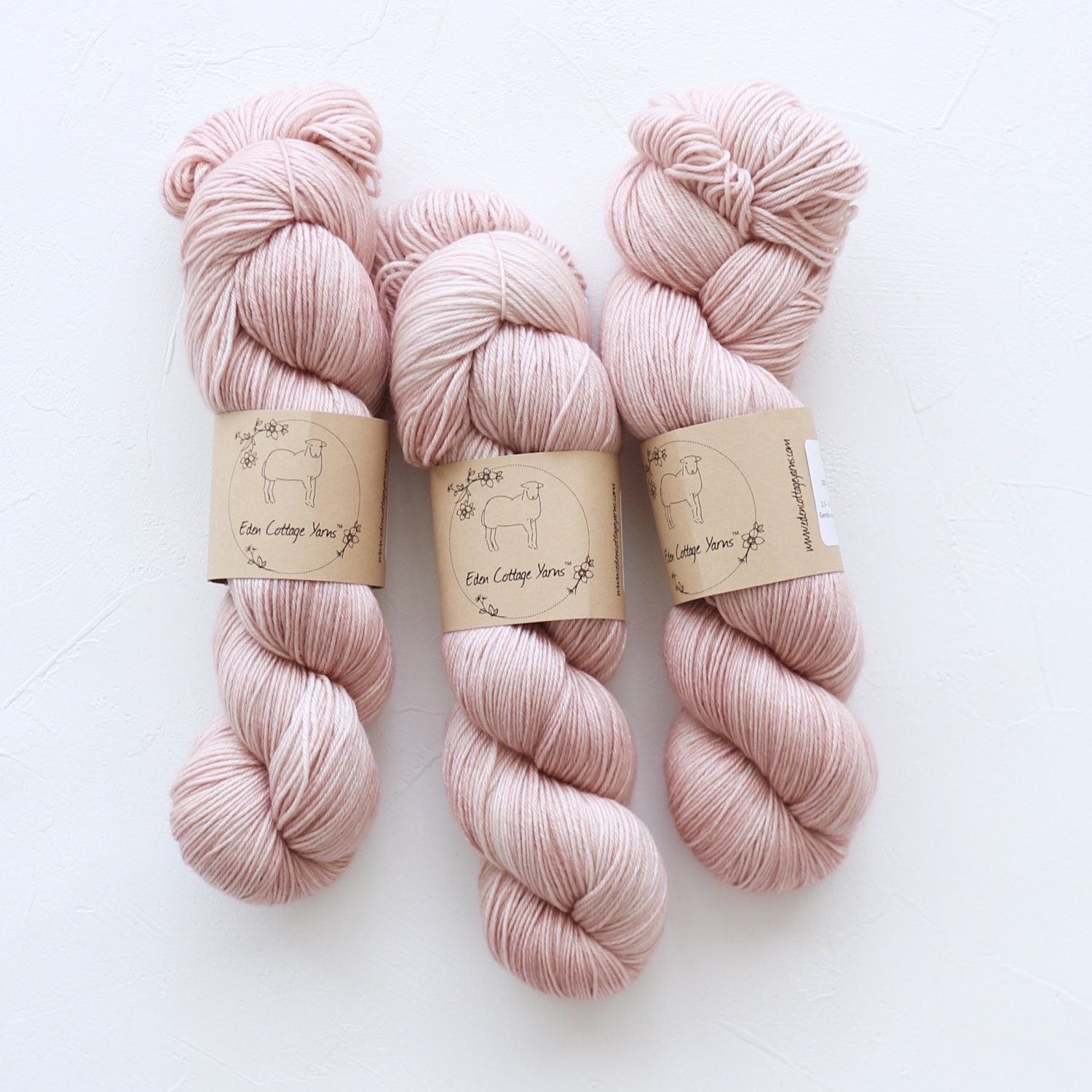 【Eden Cottage Yarns】<br>Pendle 4ply<br>Rambling Rose