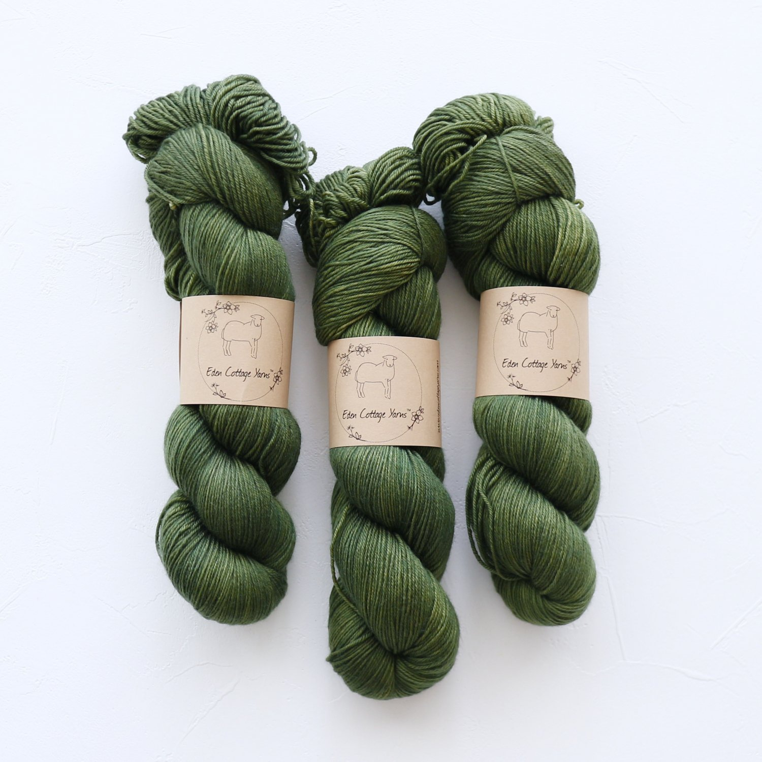 【Eden Cottage Yarns】<br>Pendle 4ply<br>Woodland