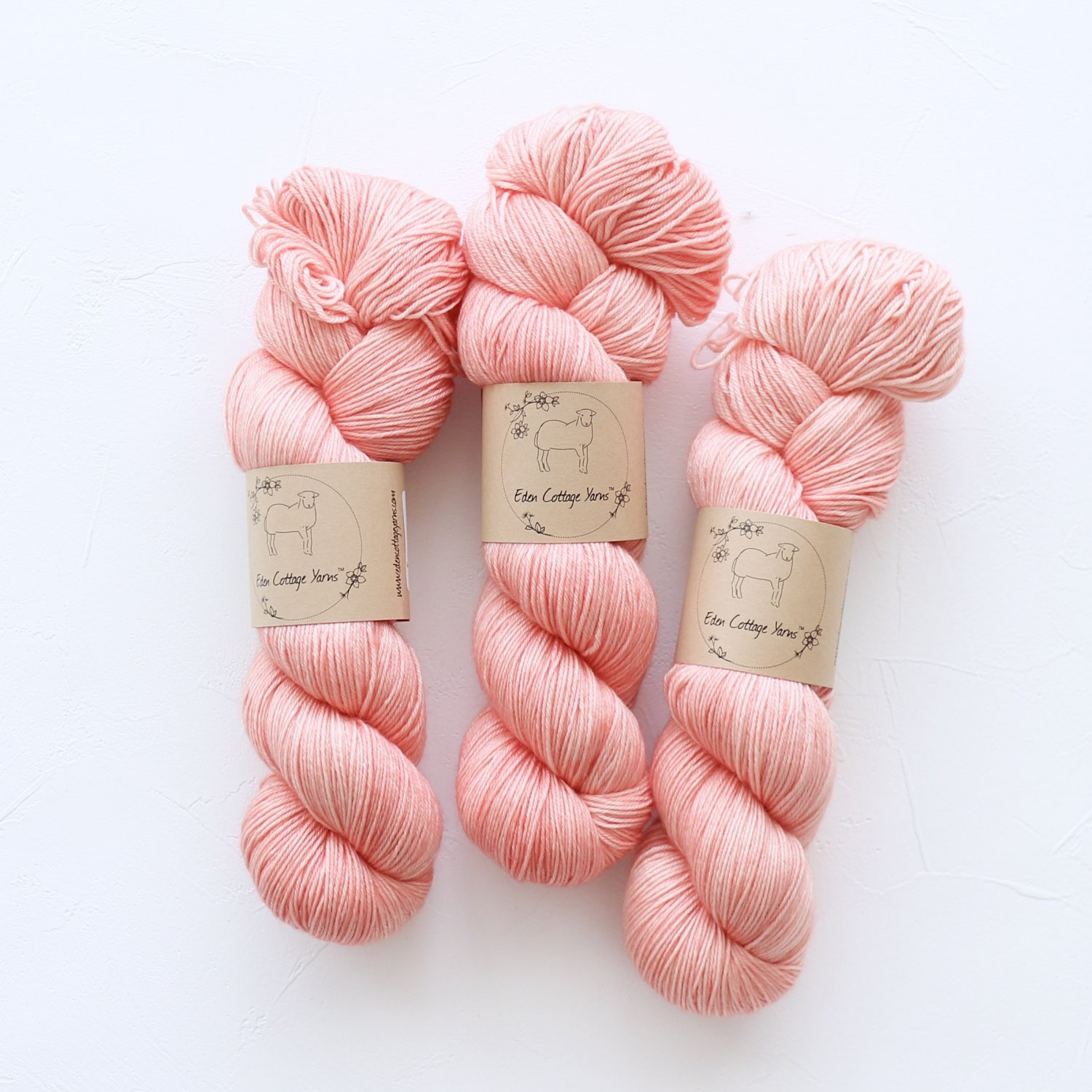 【Eden Cottage Yarns】<br>Pendle 4ply<br>Rosehip