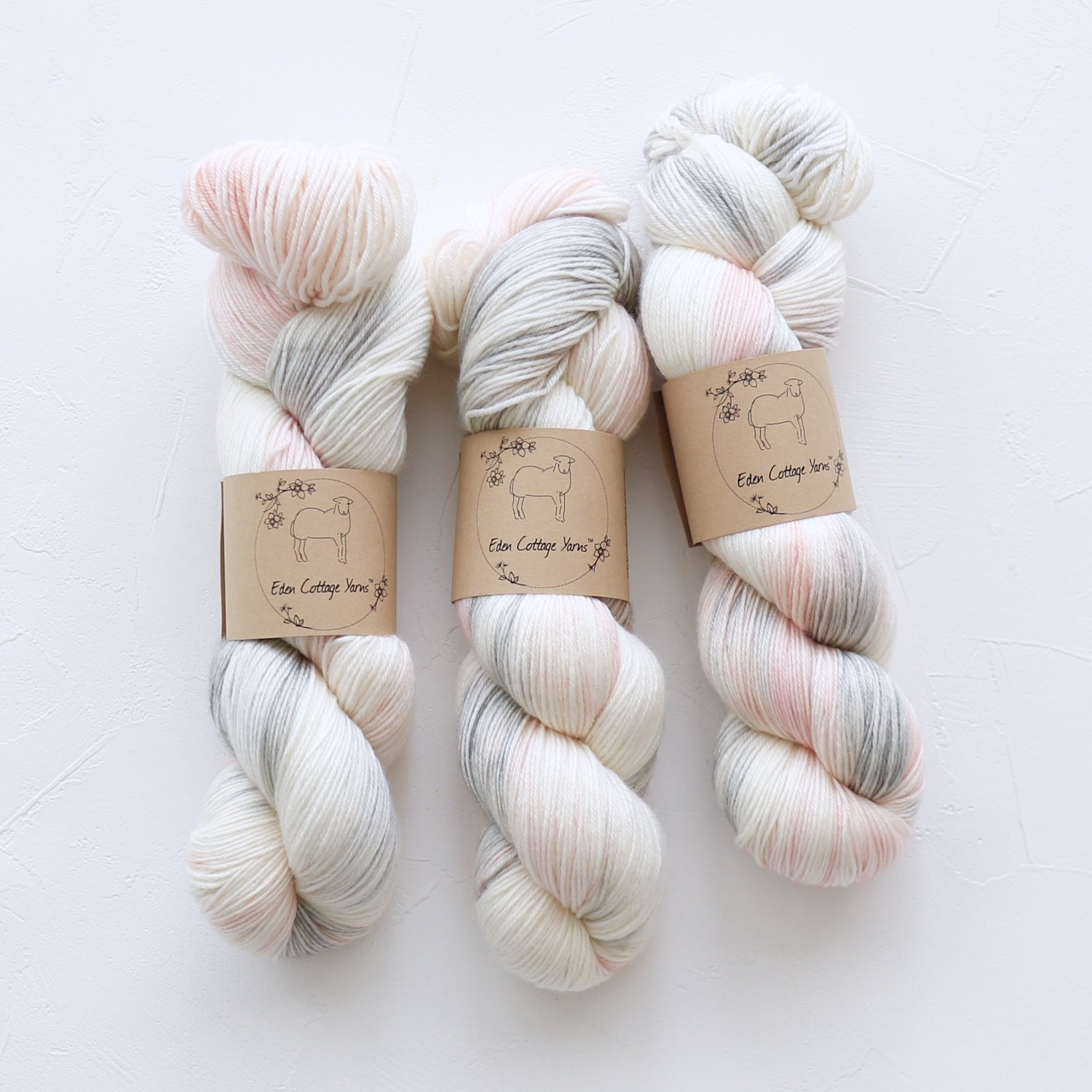 【Eden Cottage Yarns】<br>Pendle 4ply<br>Foggy Daybreak