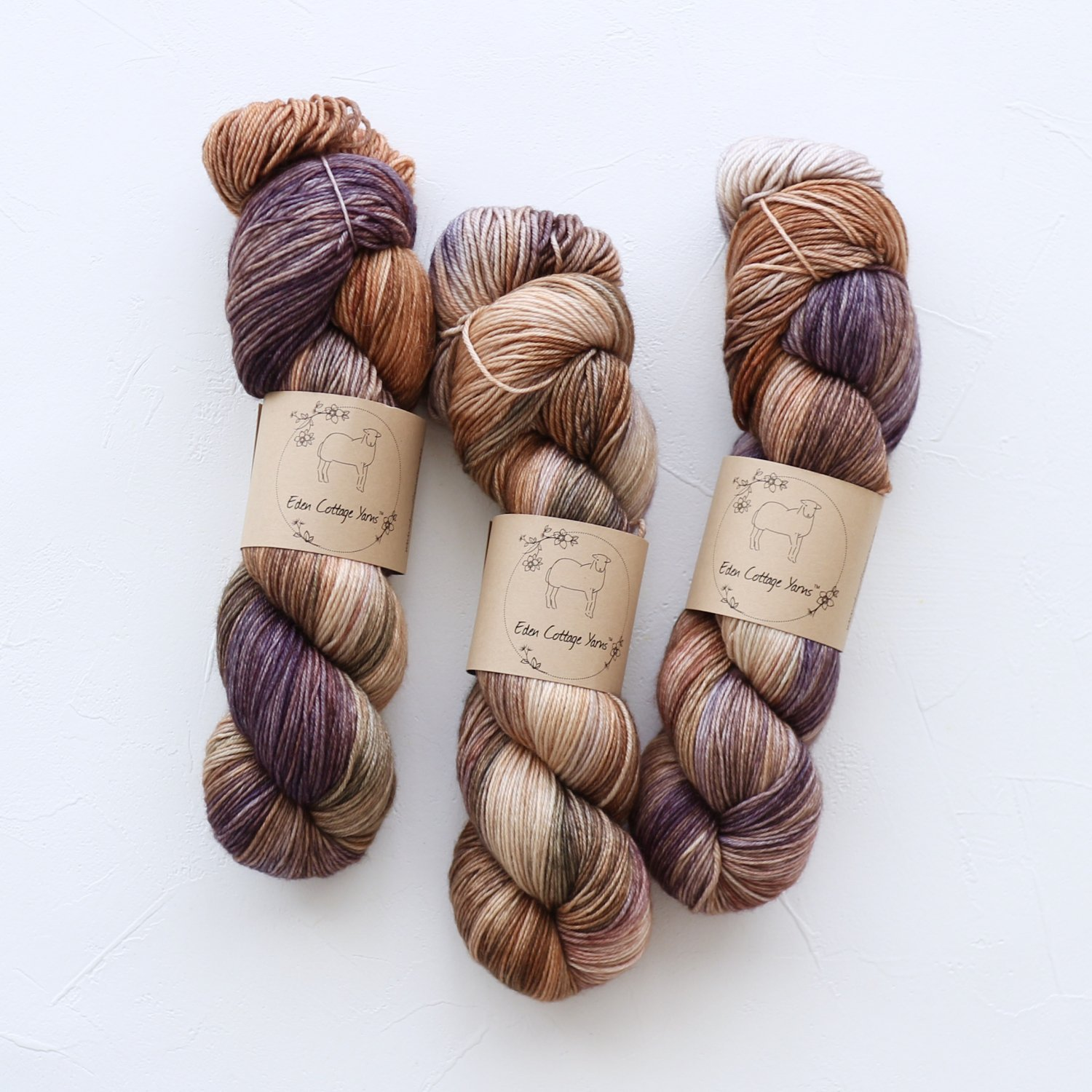 【Eden Cottage Yarns】<br>Pendle 4ply<br>Woodpile