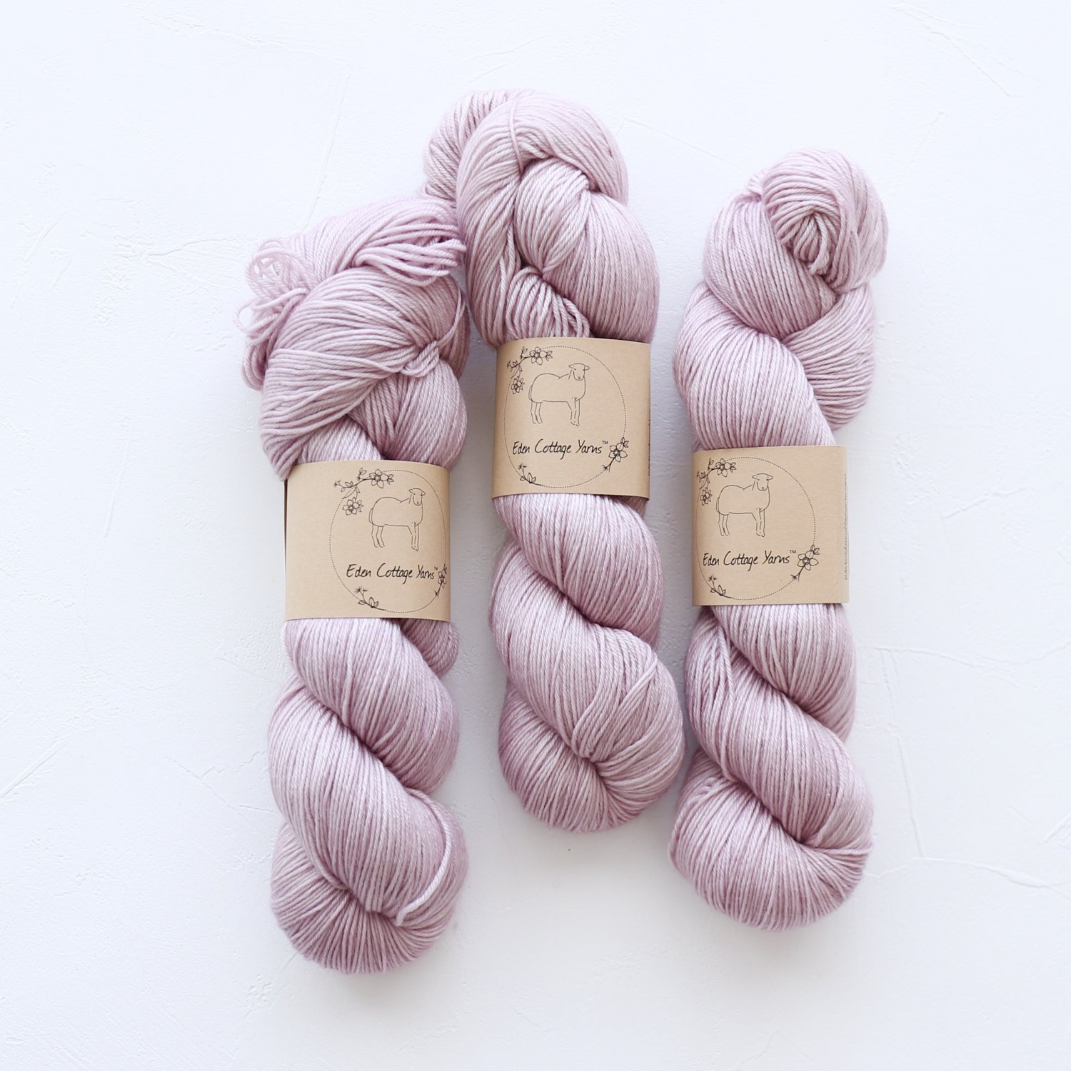 【Eden Cottage Yarns】<br>Pendle 4ply<br>Storm