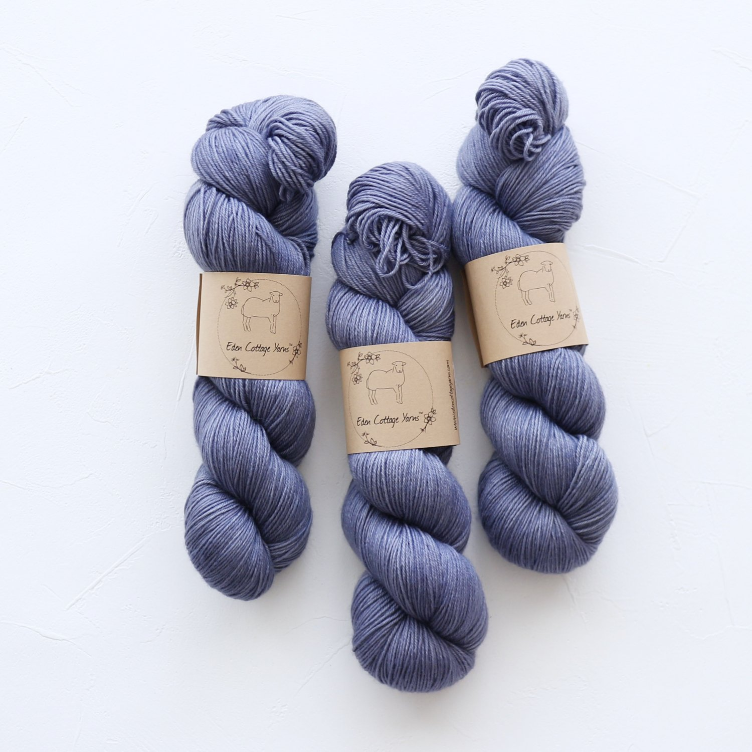 【Eden Cottage Yarns】<br>Pendle 4ply<br>Tarn