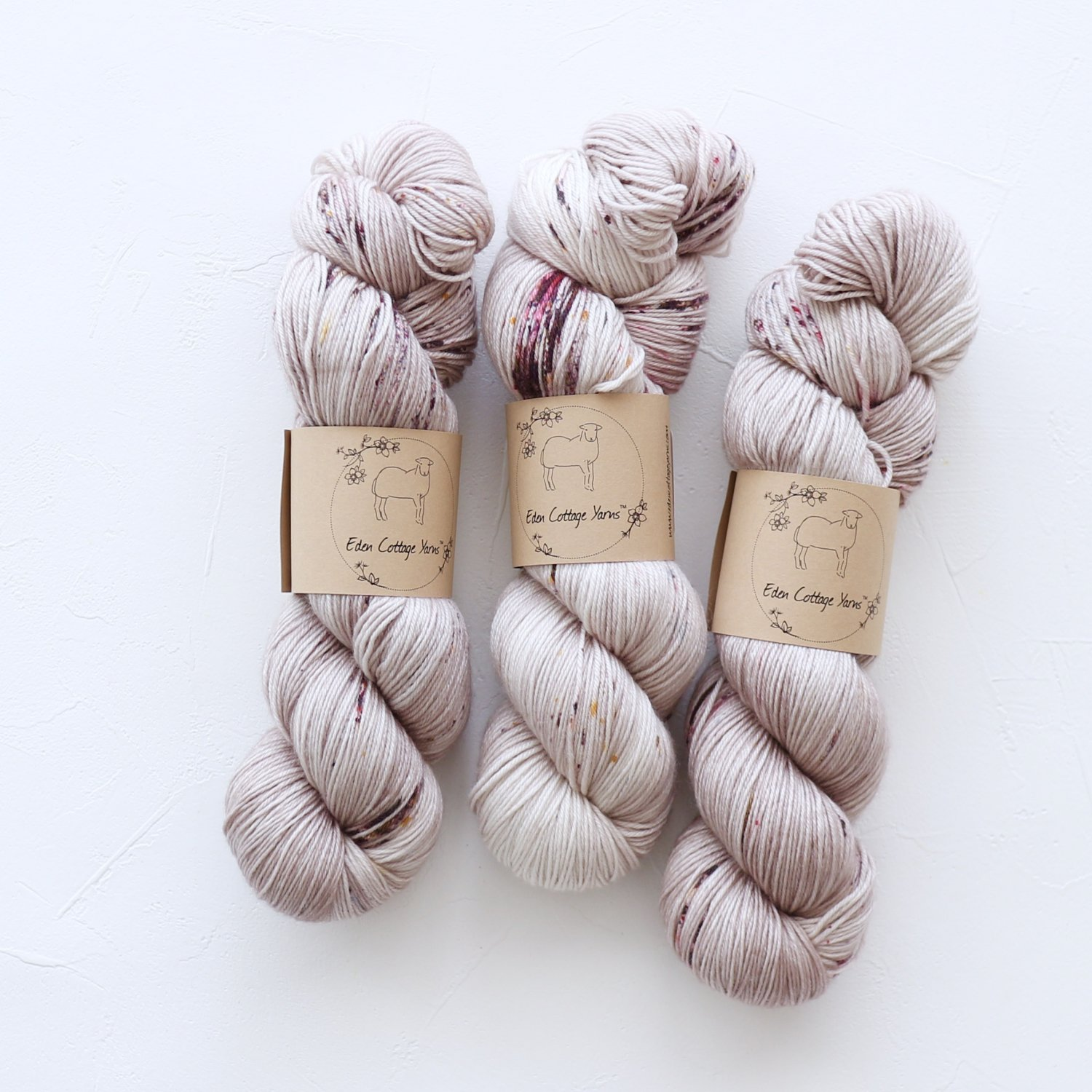 【Eden Cottage Yarns】<br>Pendle 4ply<br>Wren's Egg