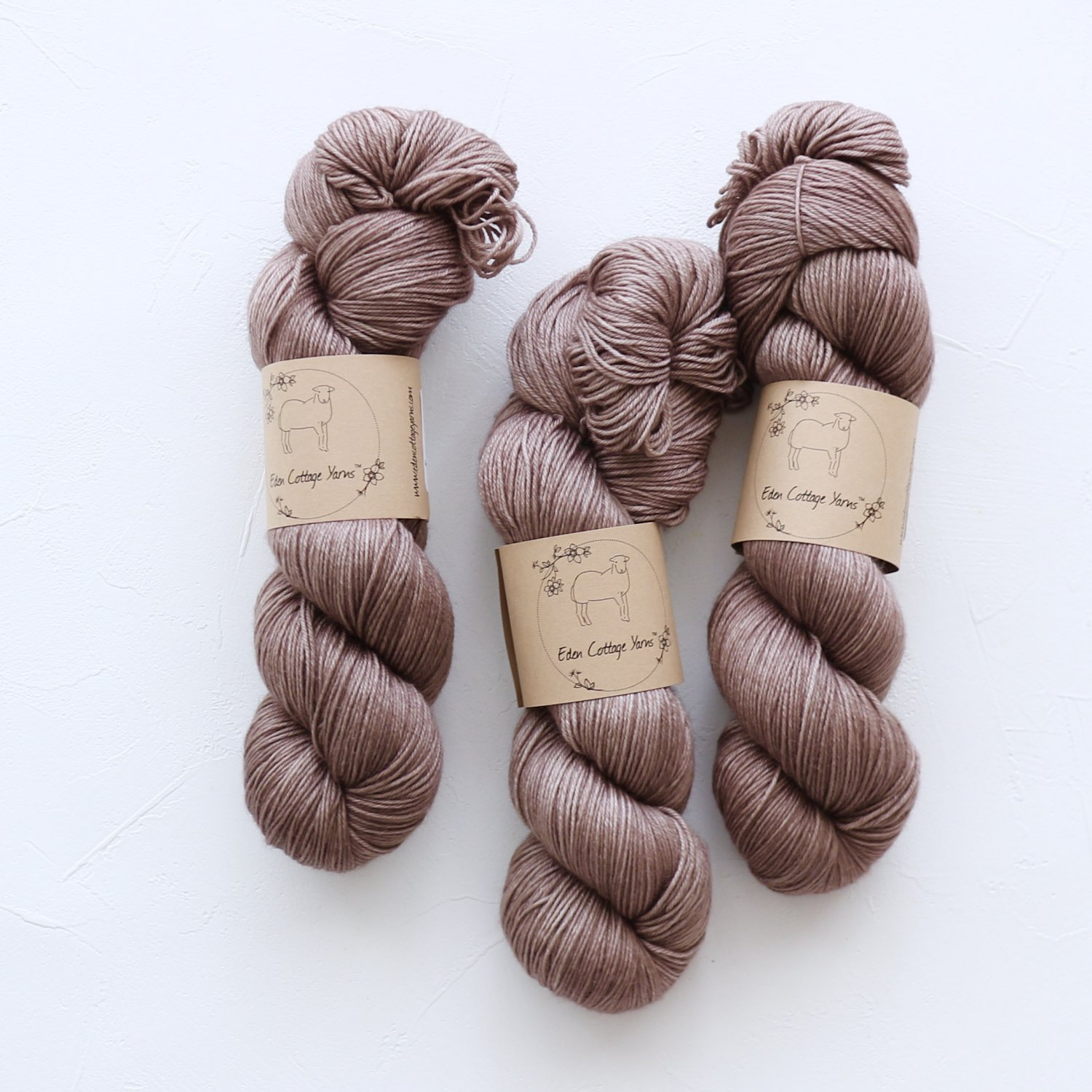 【Eden Cottage Yarns】<br>Pendle 4ply<br>Compost