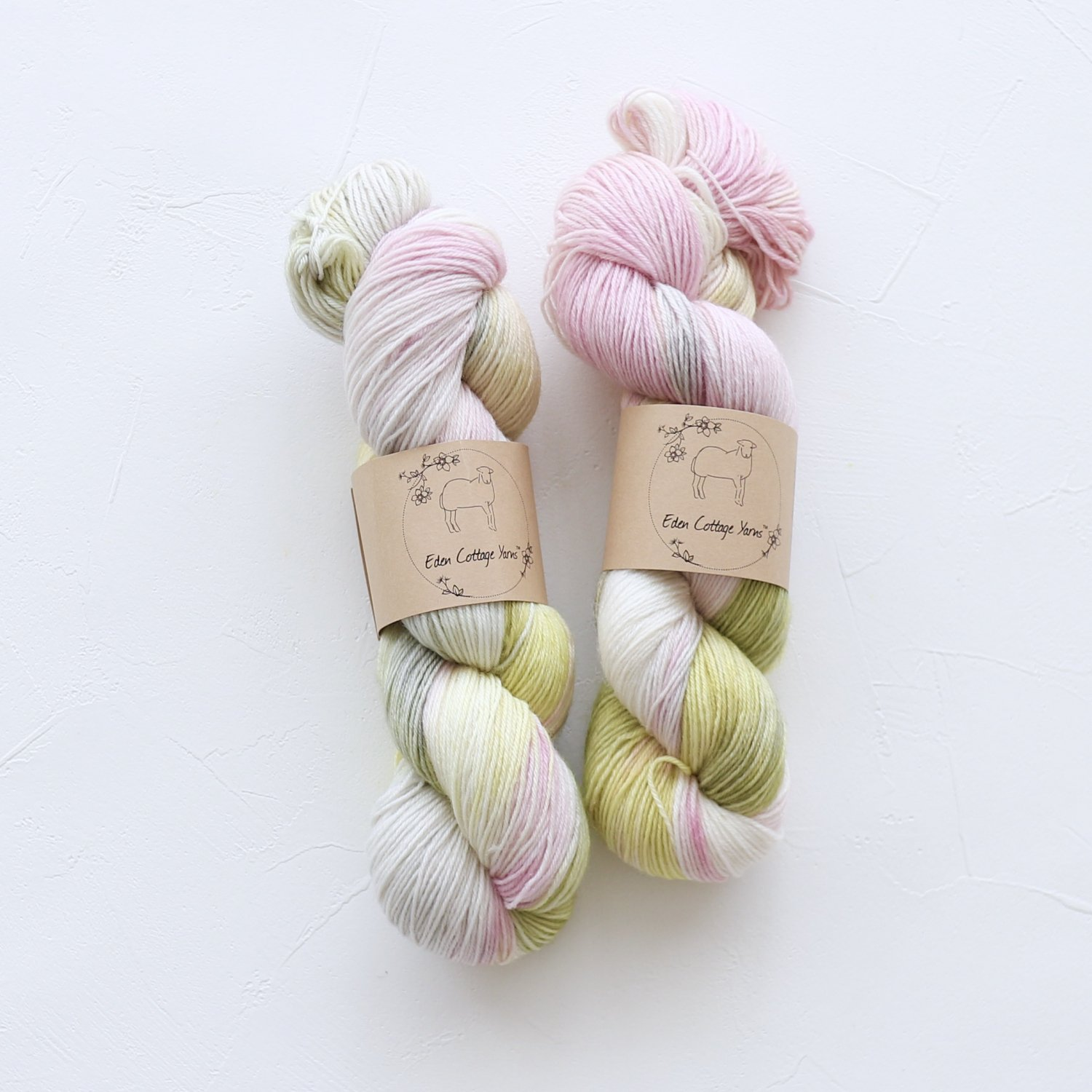 【Eden Cottage Yarns】<br>Tempo 4ply<br>Cosmos Flowerbed