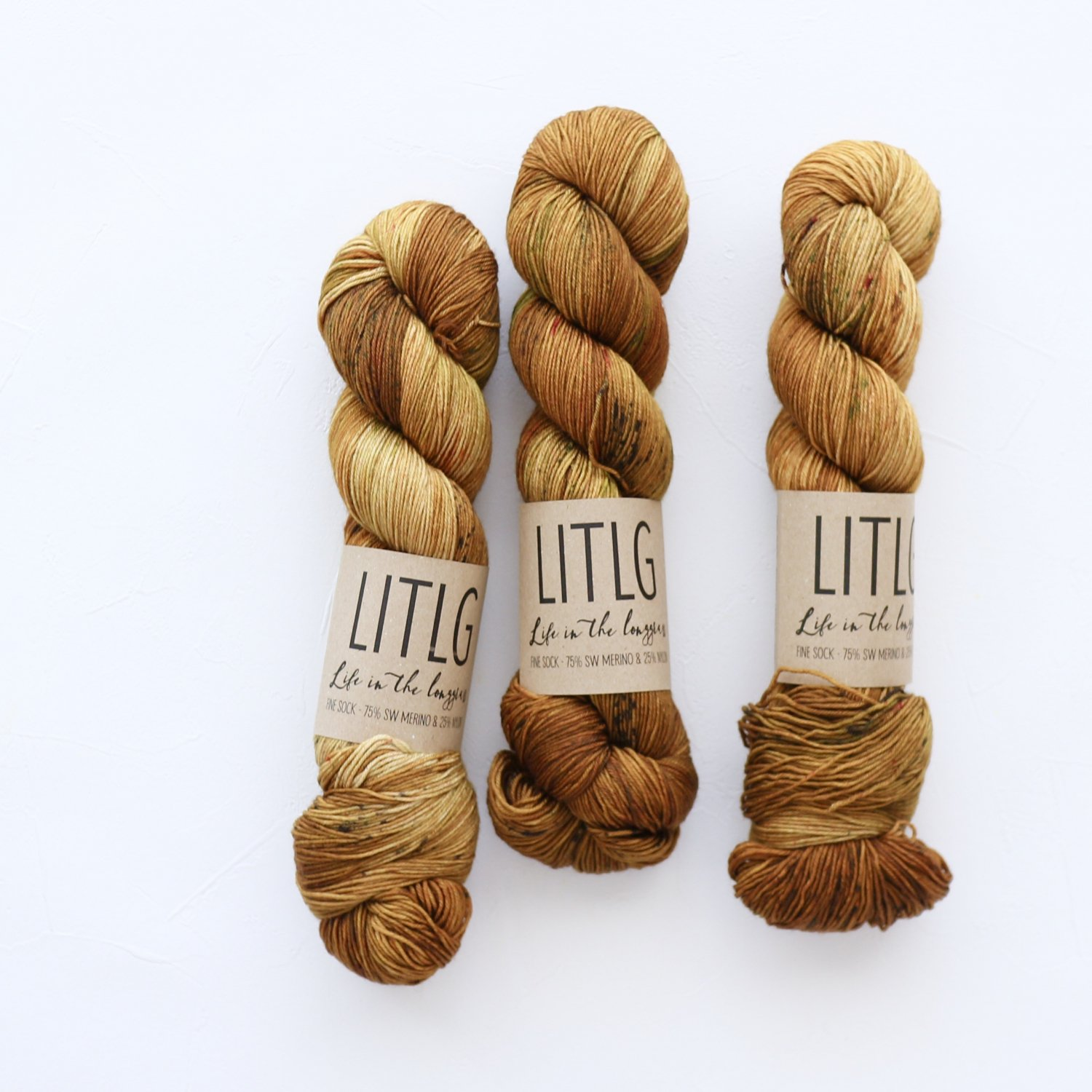 【LIFE IN THE LONGGRASS】<br>Fine Sock<br>Gorse
