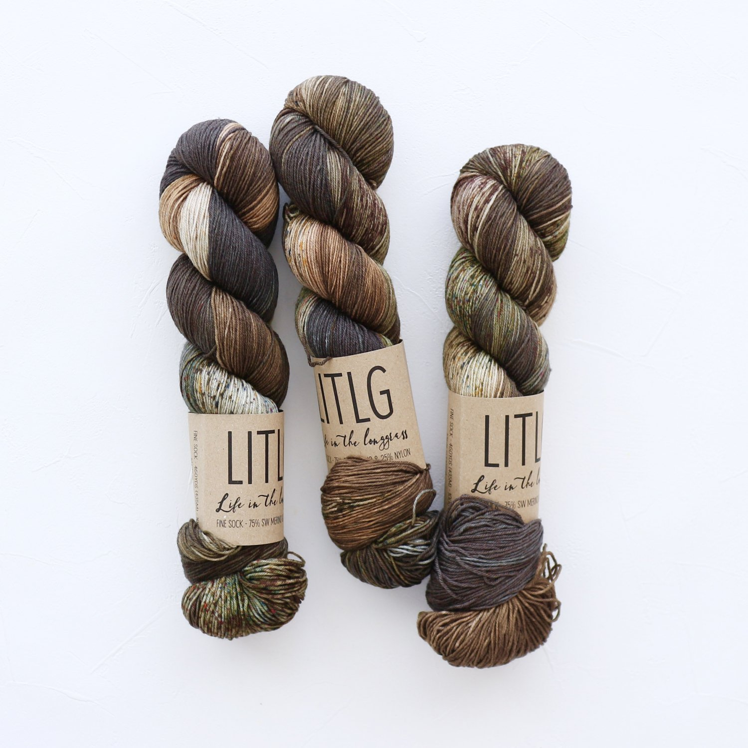 【LIFE IN THE LONGGRASS】<br>Fine Sock<br>Winterview