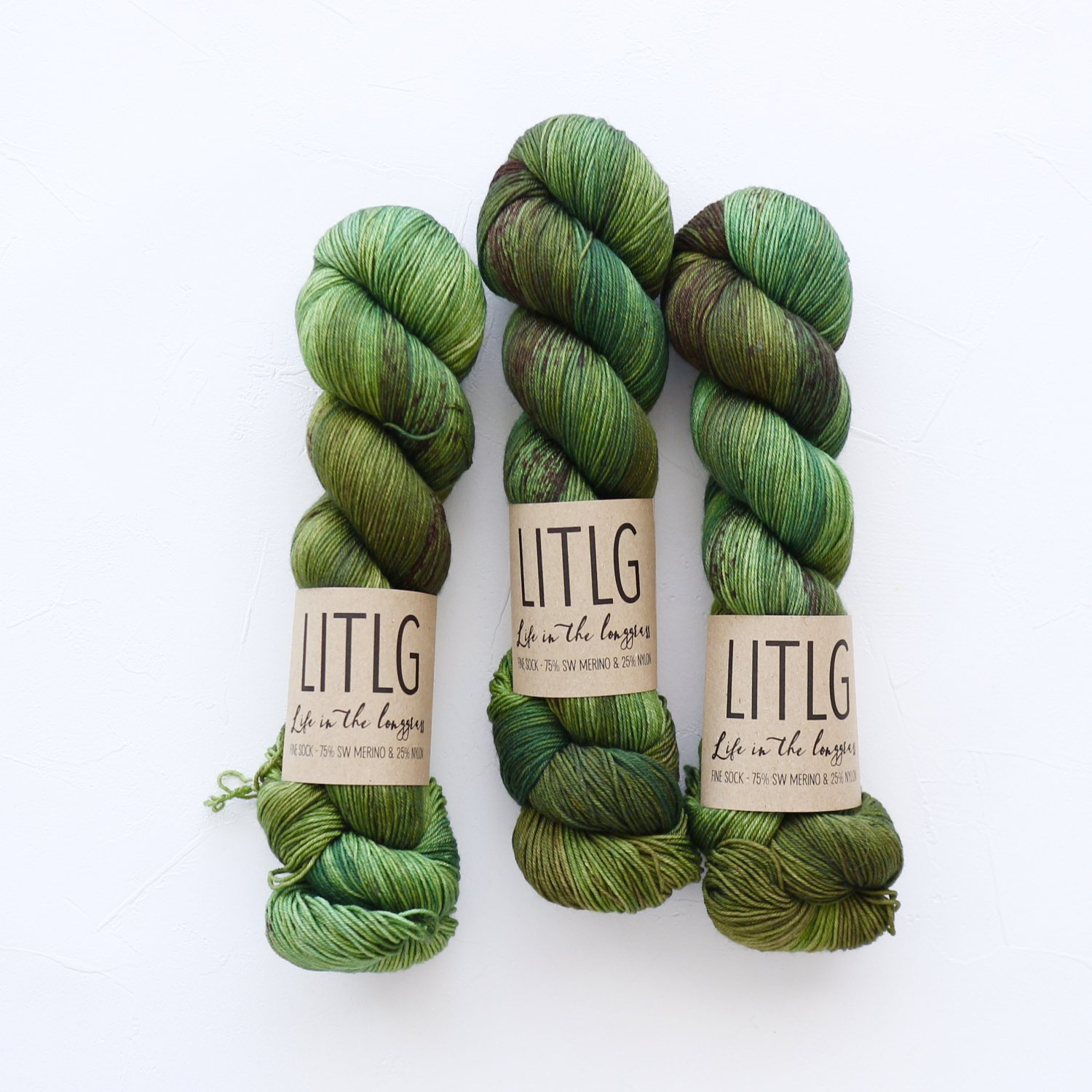 【LIFE IN THE LONGGRASS】<br>Fine Sock<br>Hillside