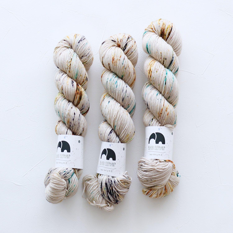 【Black elephant】<br>BE Pure Merino Sock<br>Pebbles