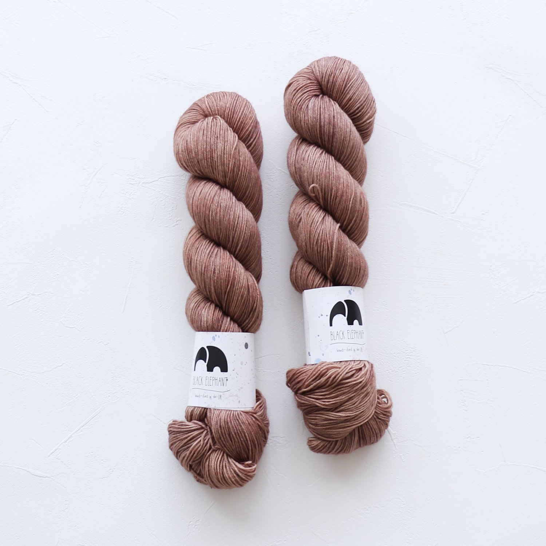 【Black elephant】<br>BE Sock<br>Mocca