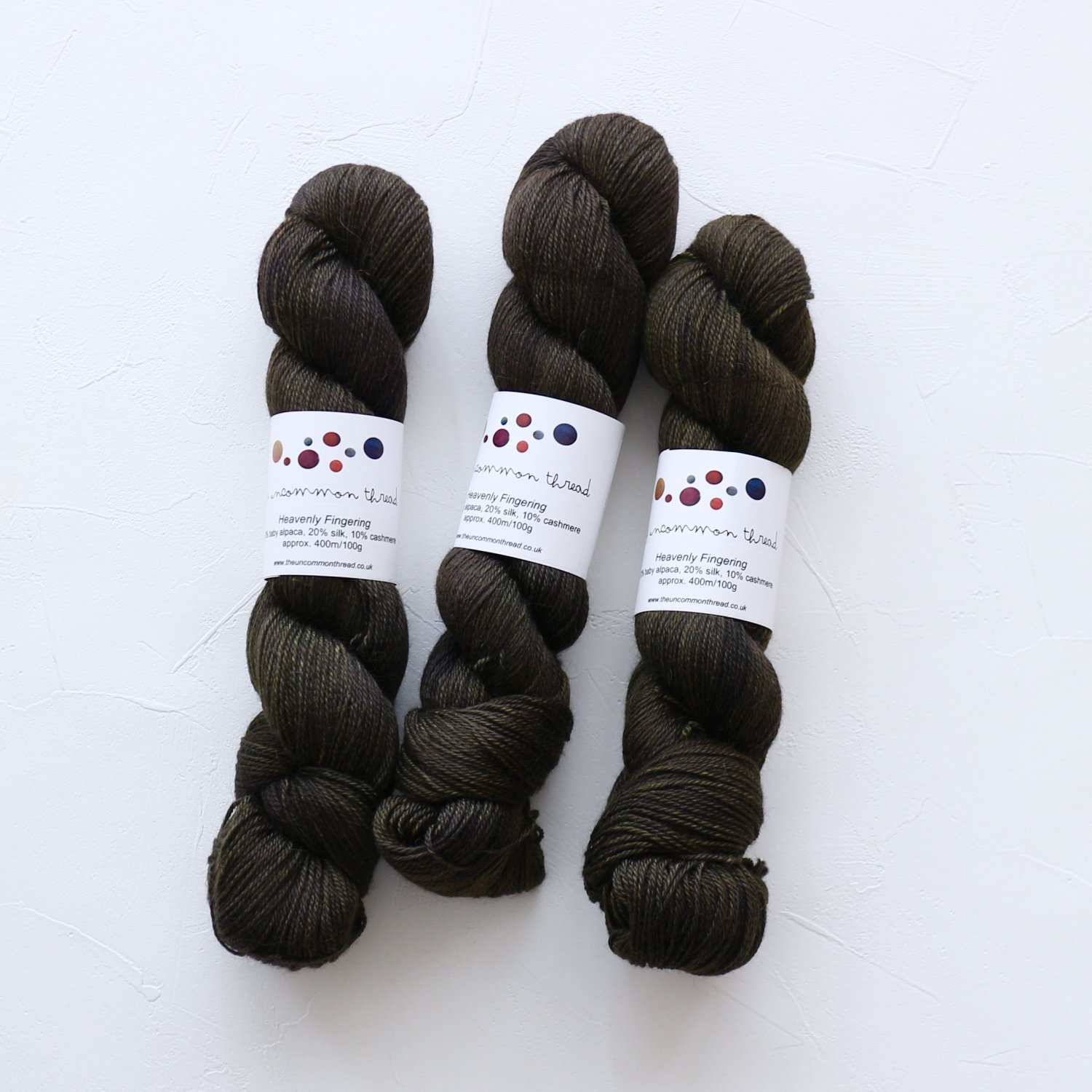【The Uncommon Thread】<br>Heavenly Fingering<br>Hemlock