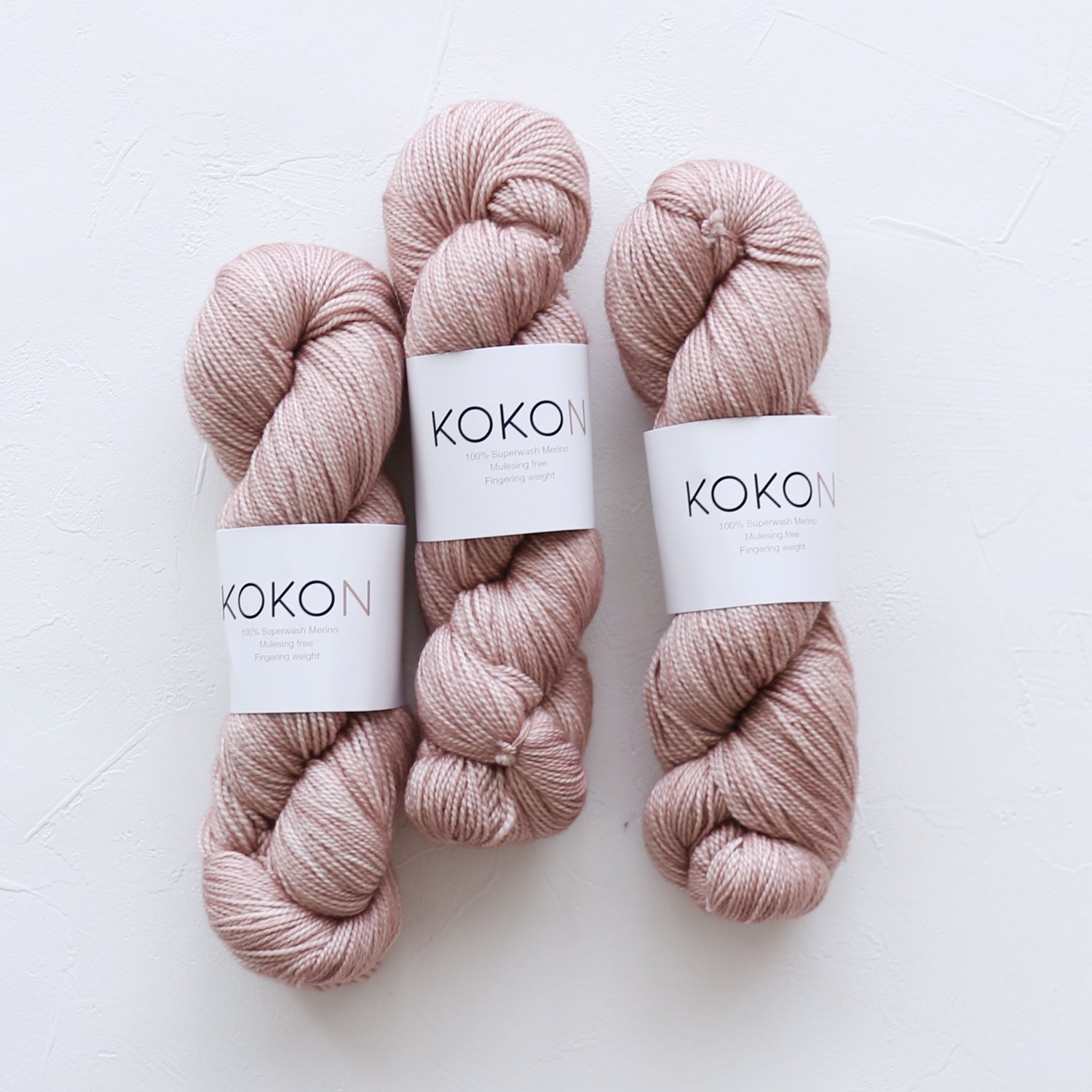 【KOKON yarn】<br>Fingering Merino<br>CLAY