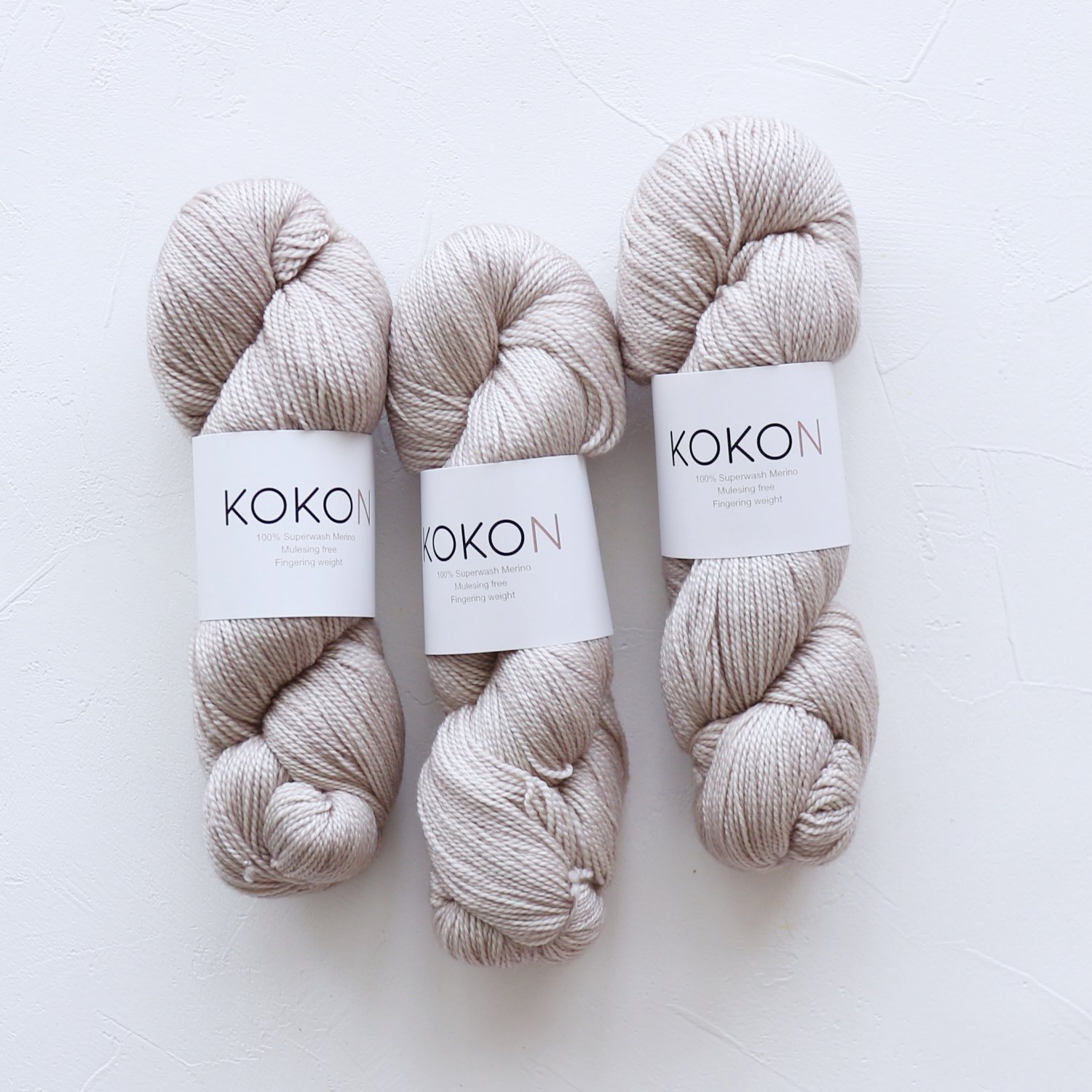【KOKON yarn】<br>Fingering Merino<br>MOON