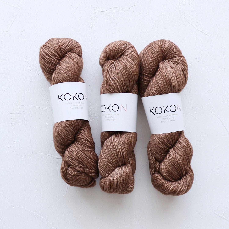 【KOKON yarn】<br>Fingering Merino<br>DUNE