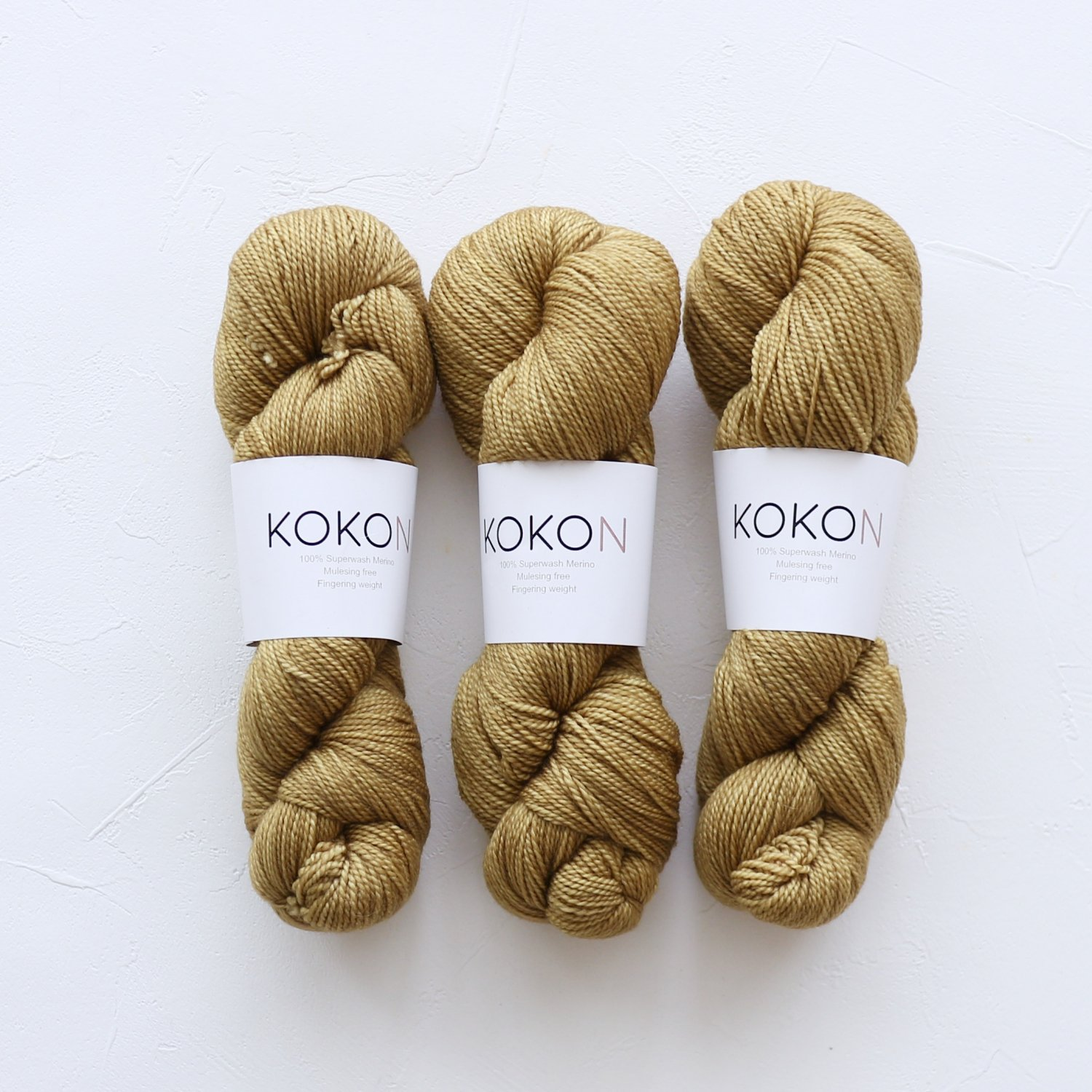 【KOKON yarn】<br>Fingering Merino<br>CRESS