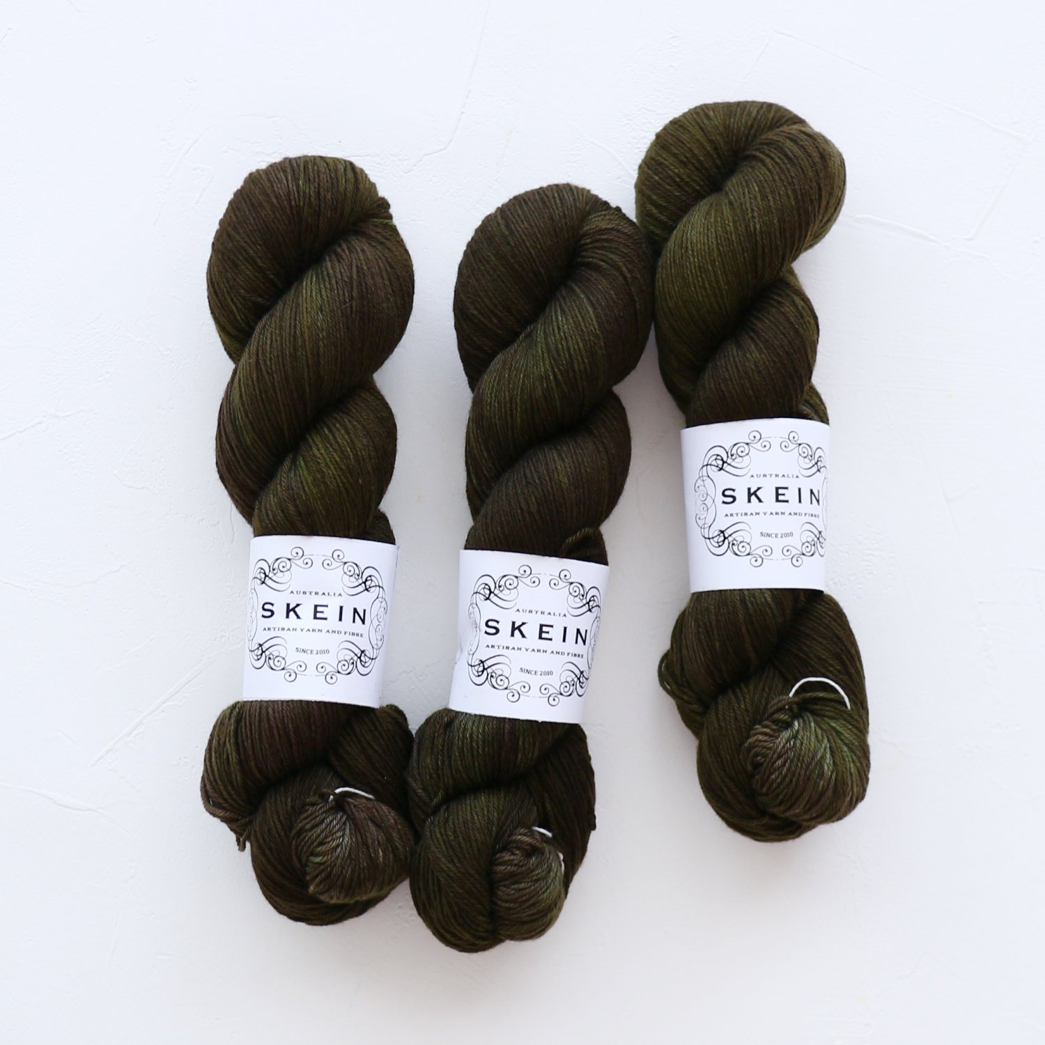 【Skein Yarn】<br>Top Draw Sock<br>Olive