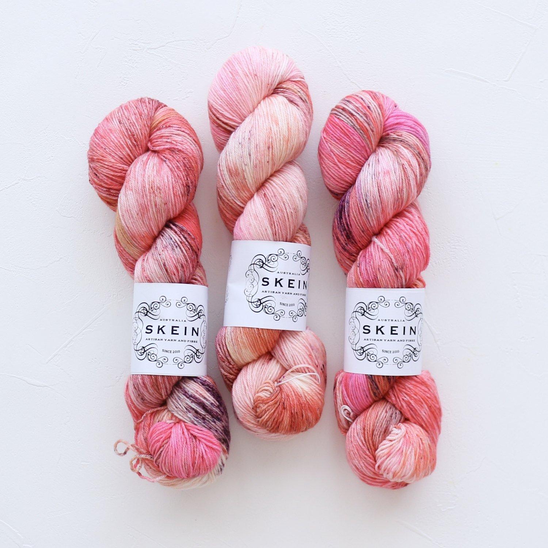 【Skein Yarn】<br>Top Draw Sock<br>Rose Gold