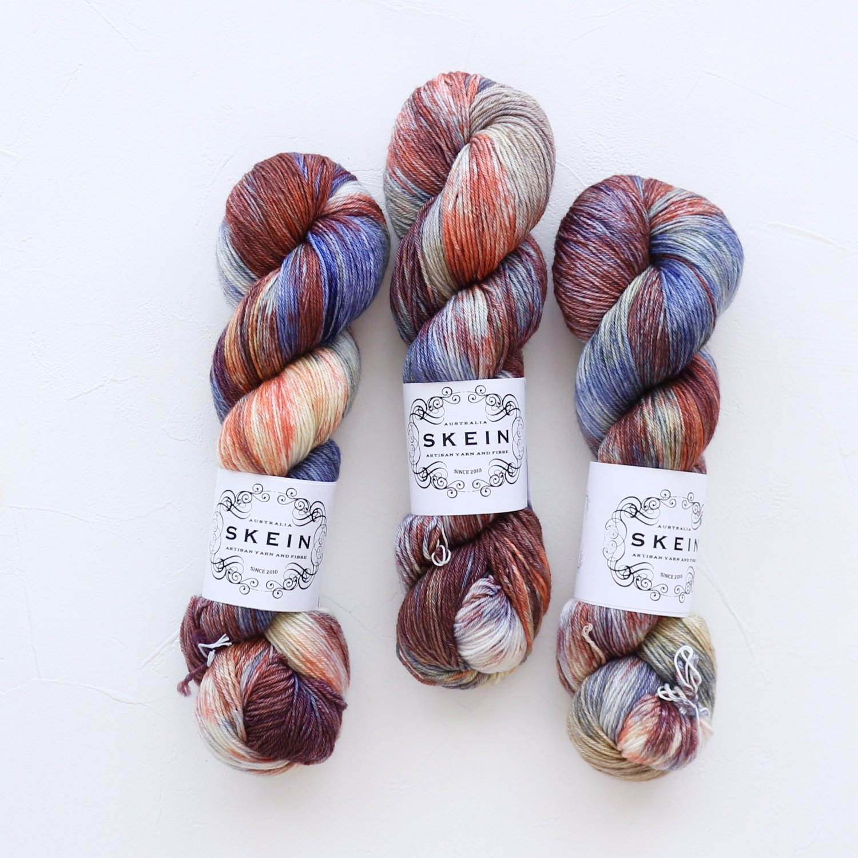 【Skein Yarn】<br>Top Draw Sock<br>Rusted Cargo