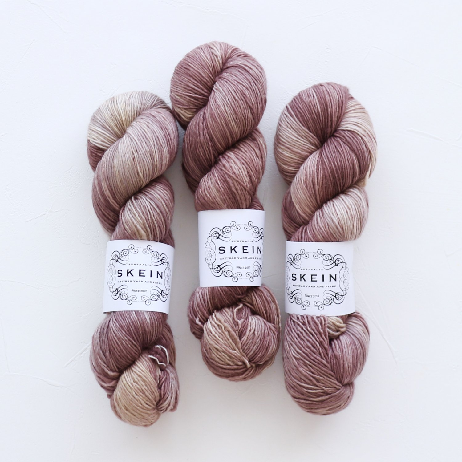 【Skein Yarn】<br>Uptown Sock<br>Chocolate