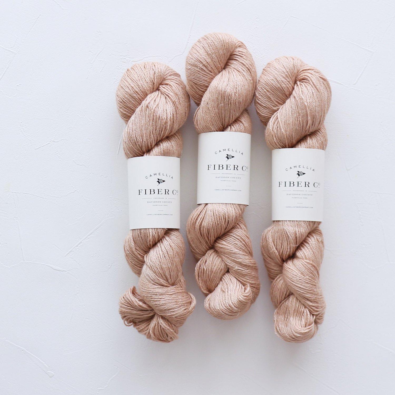 【Camellia Fiber Company】<br>CFC Flax<br>Bisque