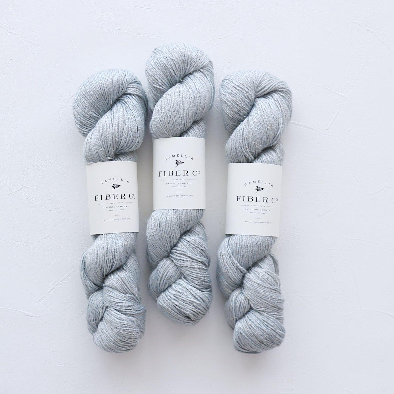【Camellia Fiber Company】<br>CFC Flax<br>Blue Poppy