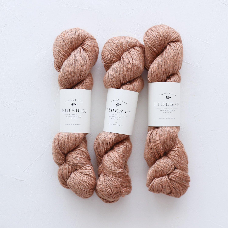 【Camellia Fiber Company】<br>CFC Flax<br>Terra Cotta