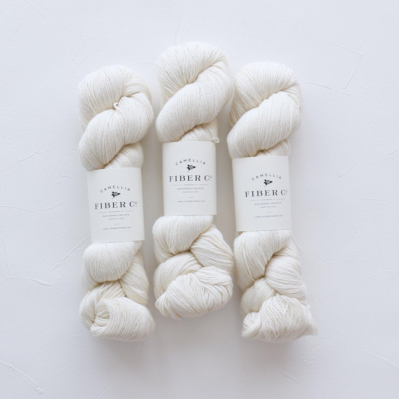 【Camellia Fiber Company】<br>CFC Sylvan<br>Natural White