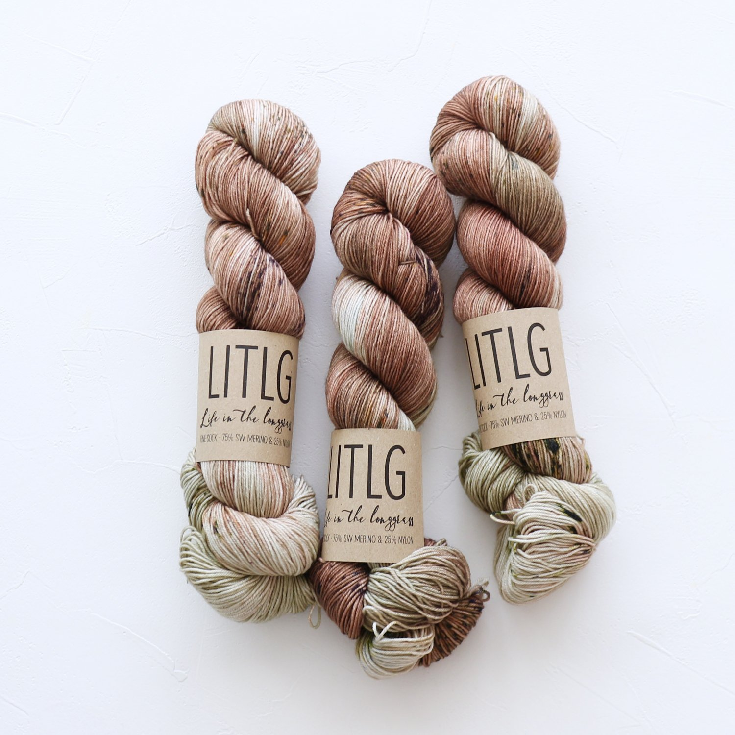 【LIFE IN THE LONGGRASS】<br>Fine Sock<br>Fuller's Clay