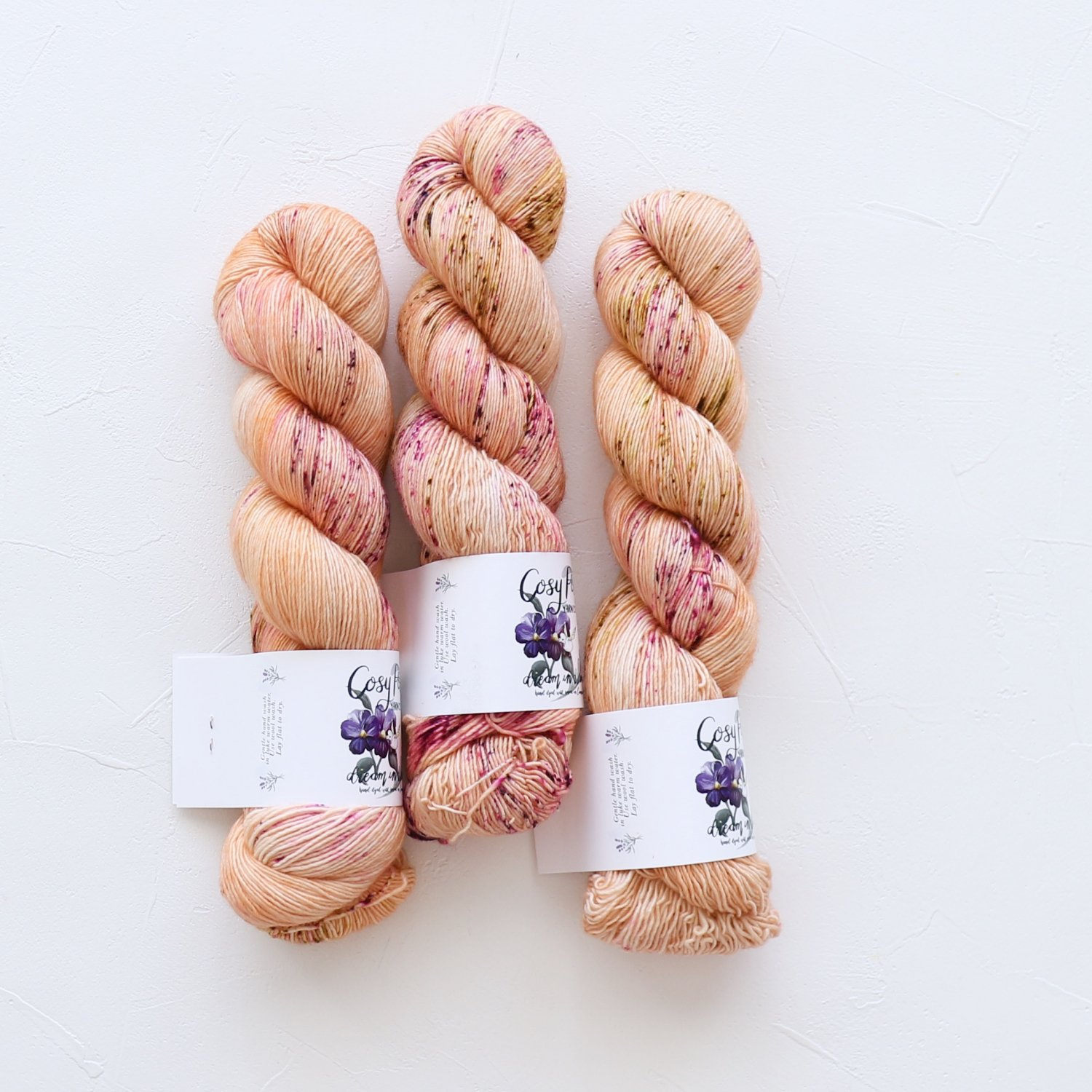 【Cosy Posy Yarn】<br>CLOUD<br>Secret Heart