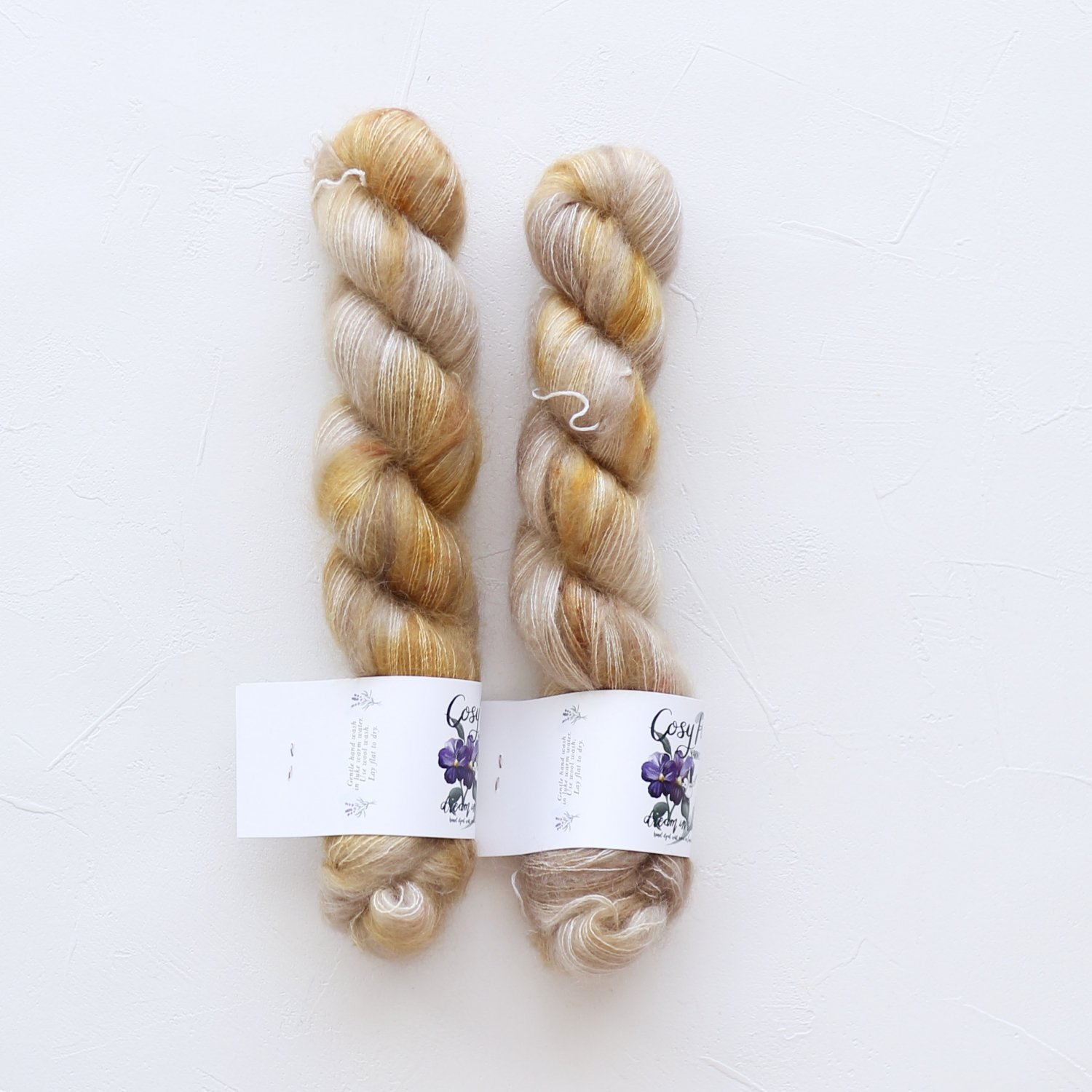 【Cosy Posy Yarn】<br>FLOOF<br>Citrine
