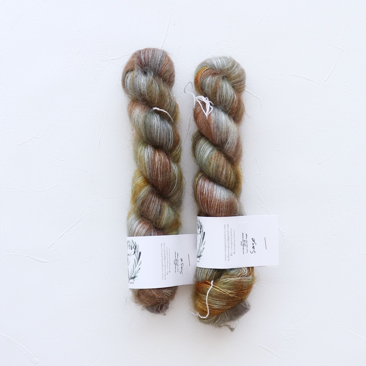 【Cosy Posy Yarn】<br>FLOOF<br>Sage