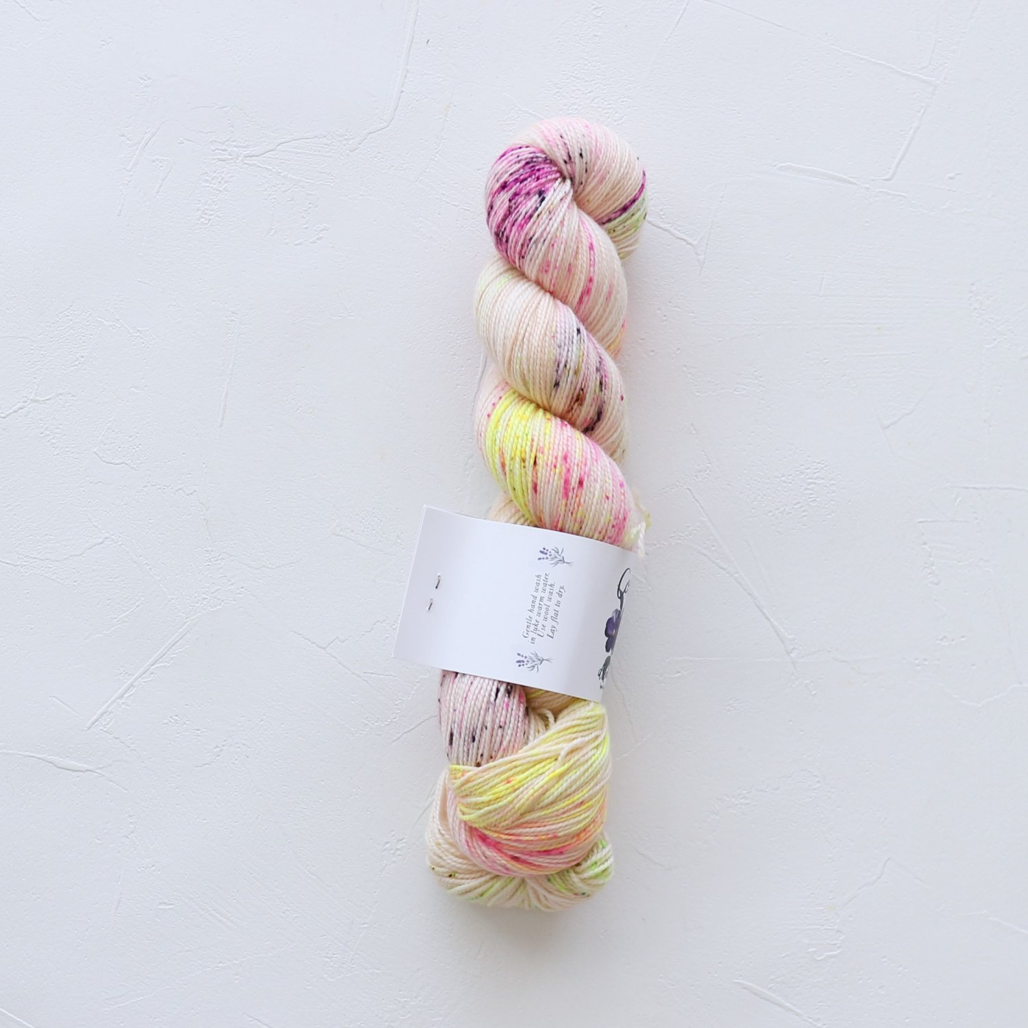 【Cosy Posy Yarn】<br>SOFT & COSY<br>Wildflower Graffiti