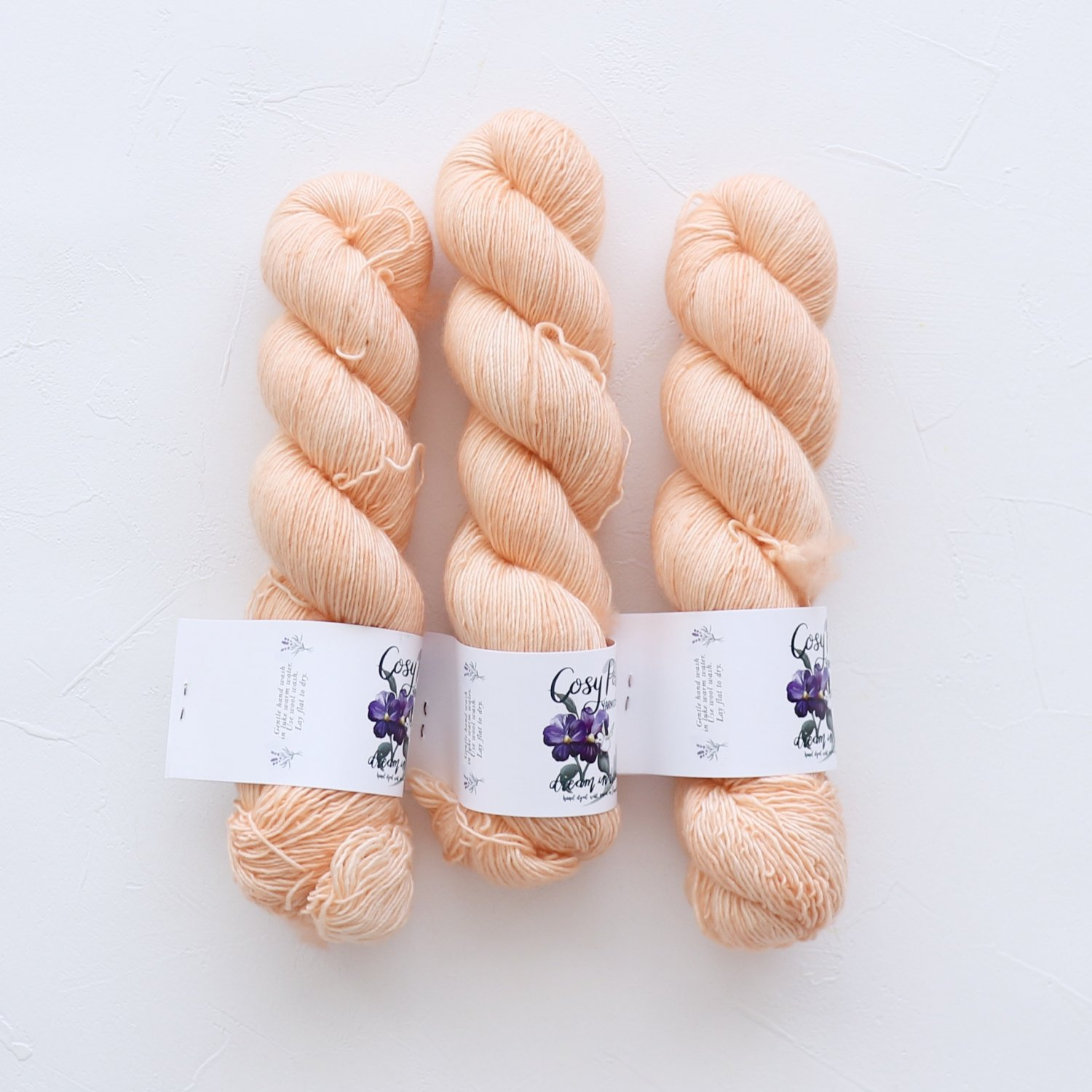 【Cosy Posy Yarn】<br>CLOUD<br>Tulle