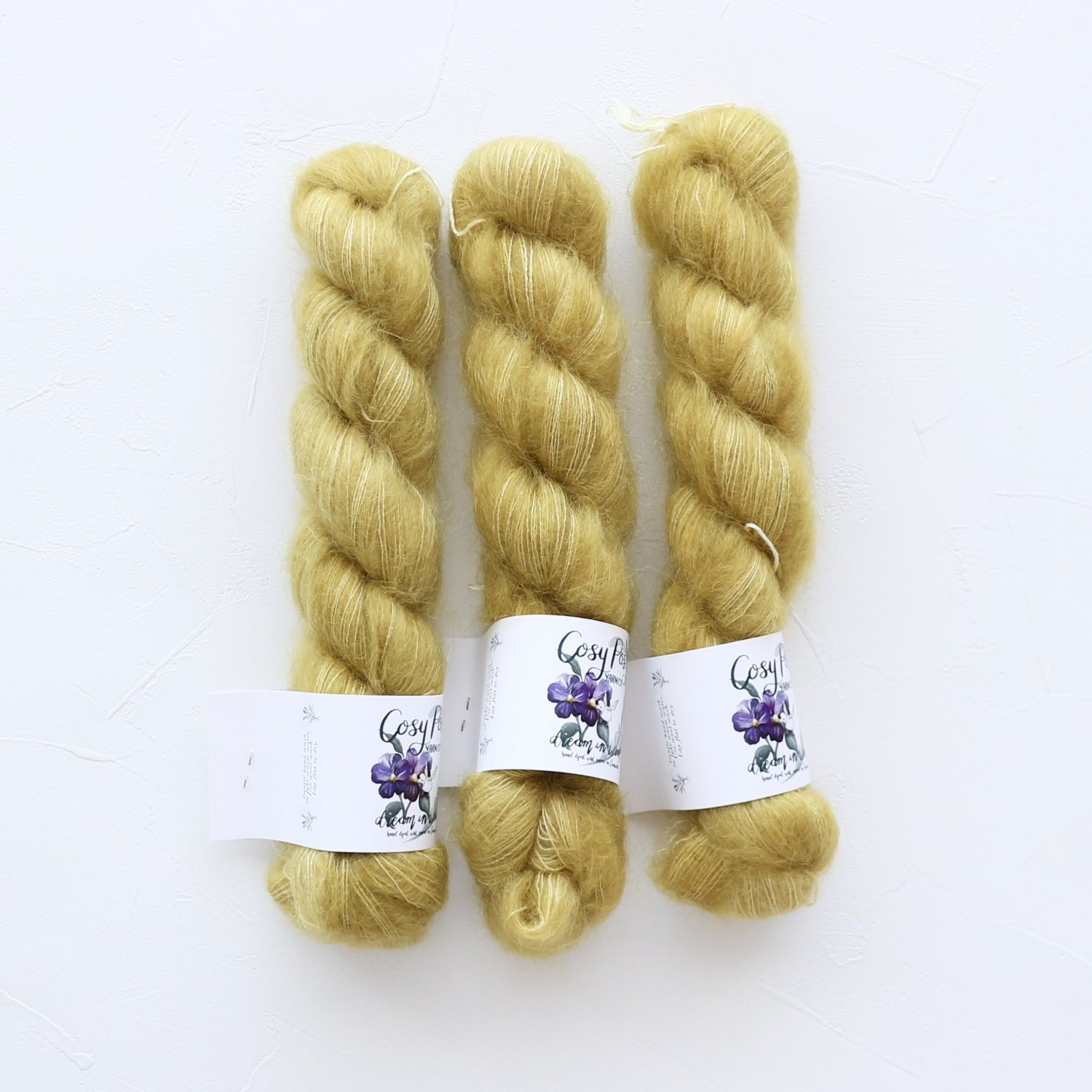 【Cosy Posy Yarn】<br>FLOOF<br>Kelly's green