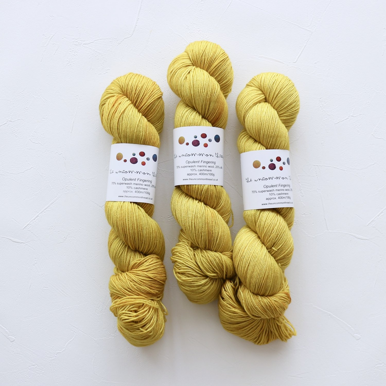 【The Uncommon Thread】<br>Opulent Fingering<br>Brassica