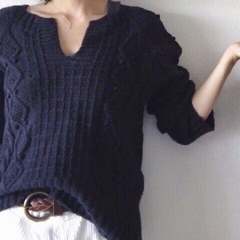 【PDF】 Anton sweater by Yuko shimizu