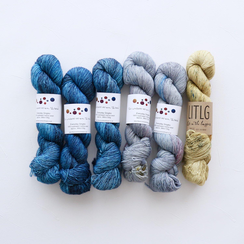 【「Ember Sweater」色合わせセット】<br>TUT & LITLG<br>【F】(長袖 L/XLサイズ)