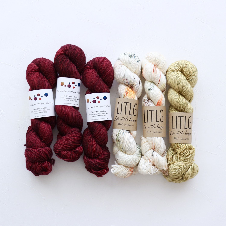 【「Ember Sweater」色合わせセット】<br>TUT & LITLG<br>【G】(長袖 L/XLサイズ)