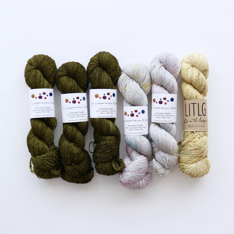 【「Ember Sweater」色合わせセット】<br>TUT & LITLG<br>【I】(長袖 L/XLサイズ)