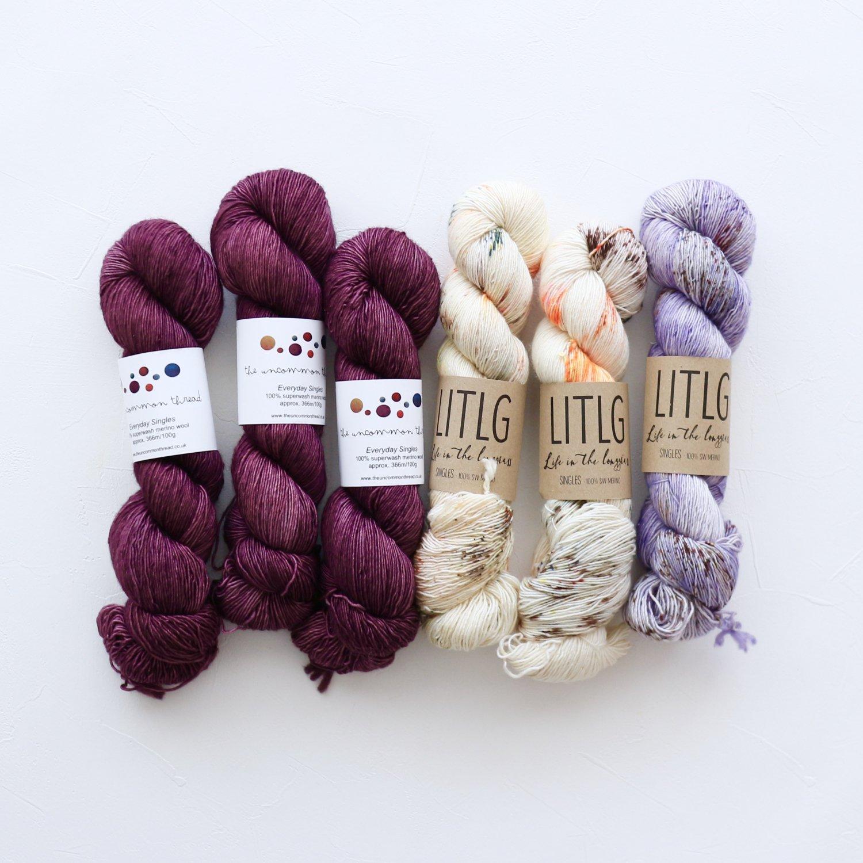【「Ember Sweater」色合わせセット】<br>TUT & LITLG<br>【J】(長袖 L/XLサイズ)