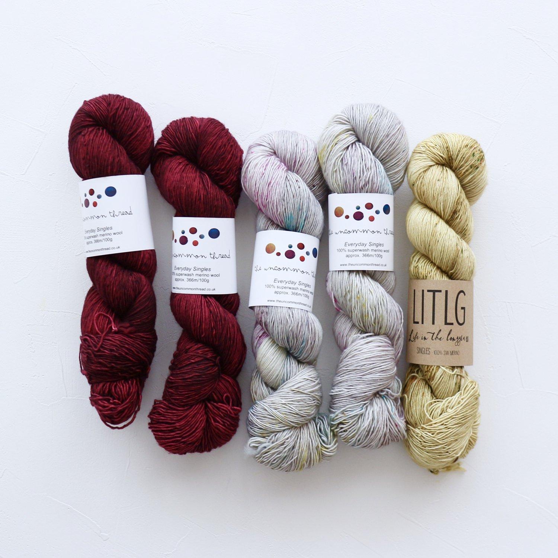 【「Ember Sweater」色合わせセット】<br>TUT & LITLG<br>【B】(長袖 S/Mサイズ)