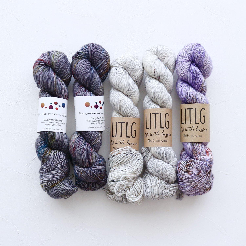 【「Ember Sweater」色合わせセット】<br>TUT & LITLG<br>【C】(長袖 S/Mサイズ)