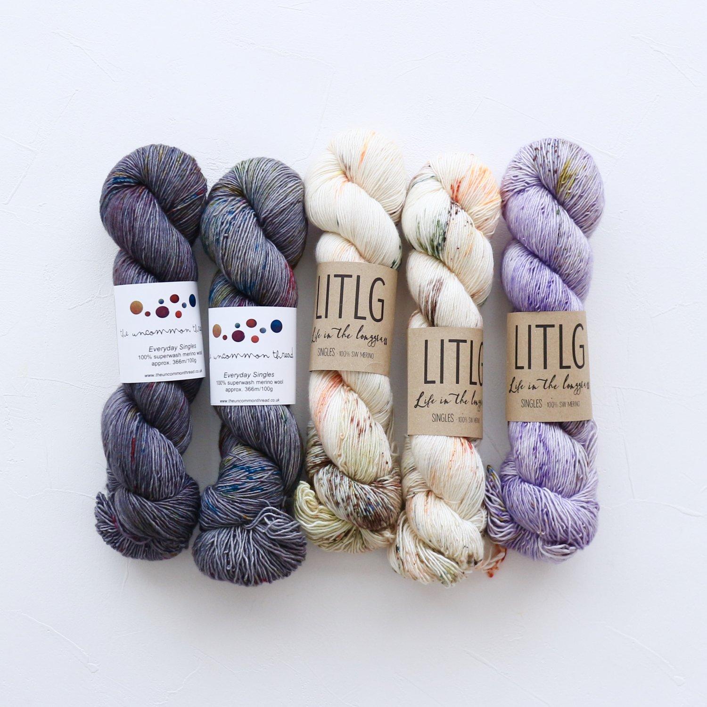 【「Ember Sweater」色合わせセット】<br>TUT & LITLG<br>【K】(長袖 S/Mサイズ)
