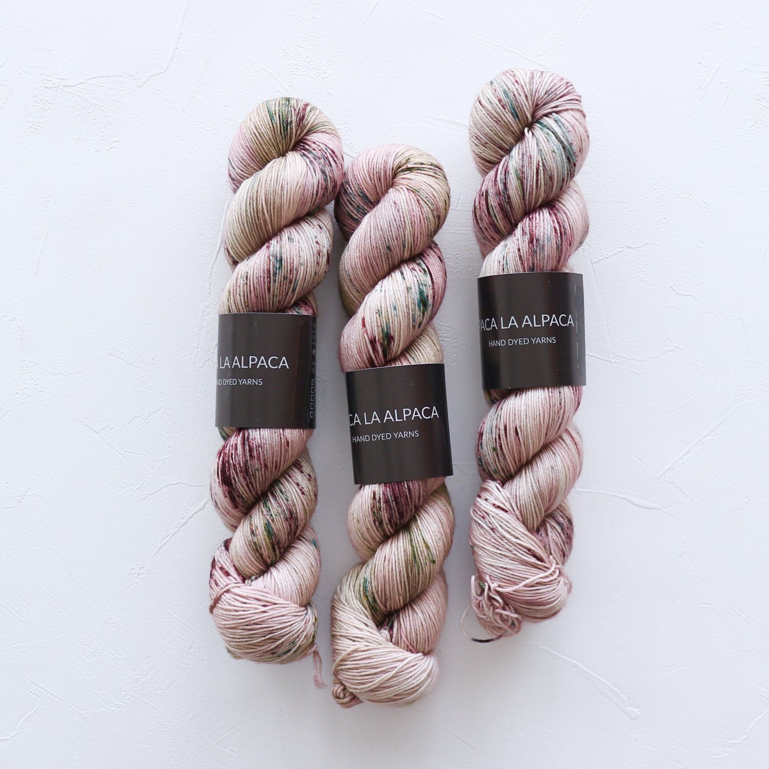 【Paca La Alpaca】<br>Superwash Merino Sock 4Ply<br>Dried Flowers