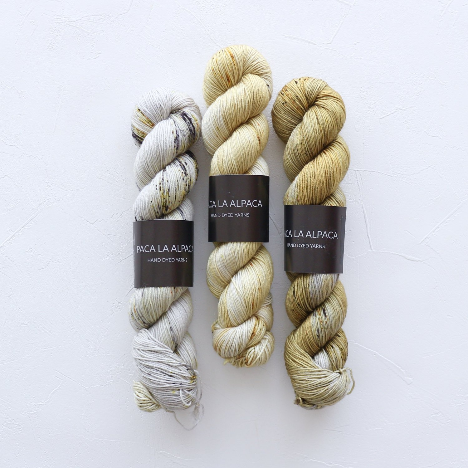 【「Mebuki」フェードセット】<br>Superwash Merino Sock 4Ply<br>Stay Gold(サイズ1)