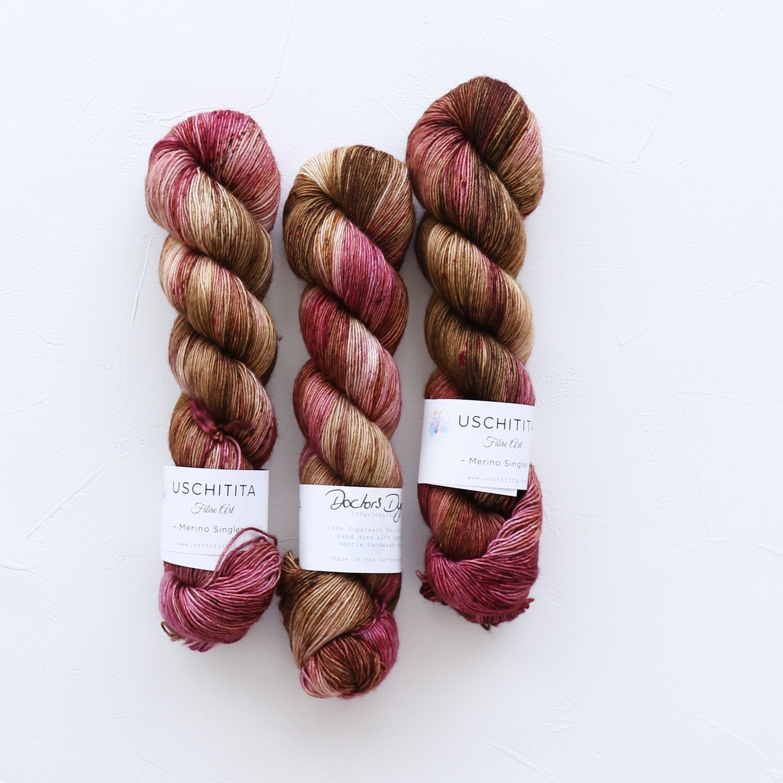 【uschitita】<br>Merino Singles<br>Doctors Dyery