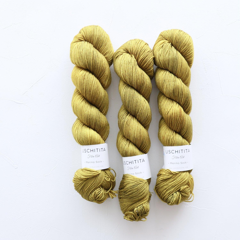 【uschitita】<br>Merino Sock<br>Vivid