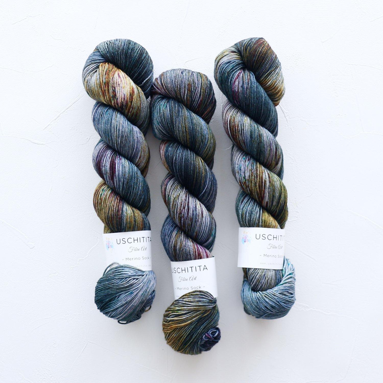 【uschitita】<br>Merino Sock<br>Vintage Rug